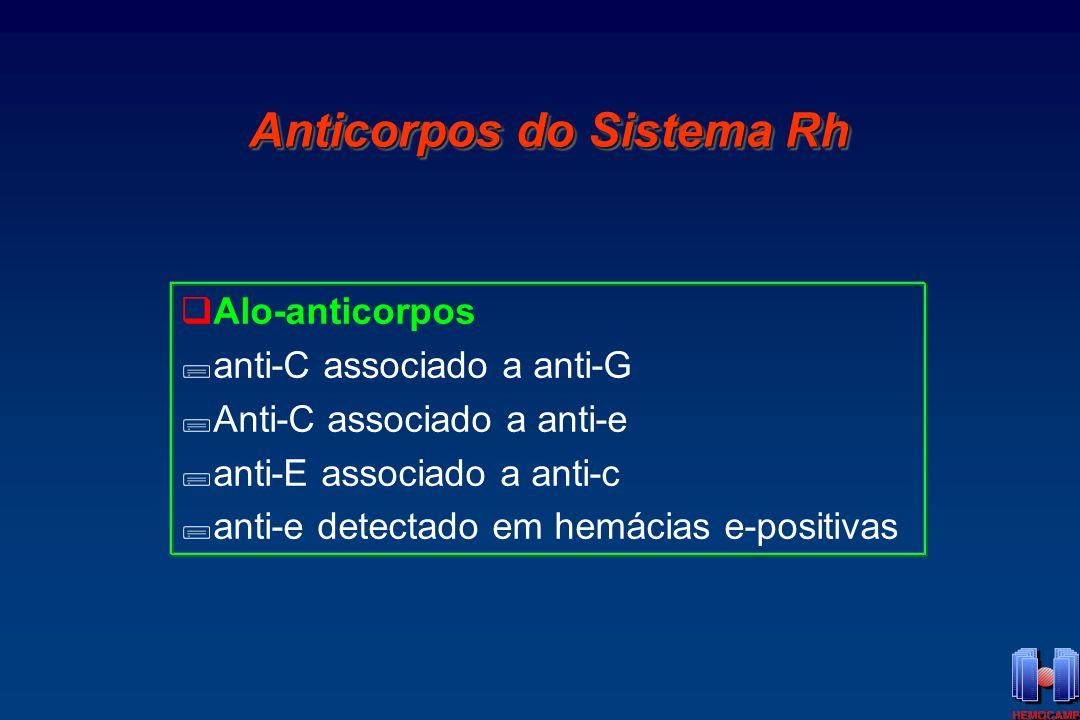 Anticorpos do Sistema Rh