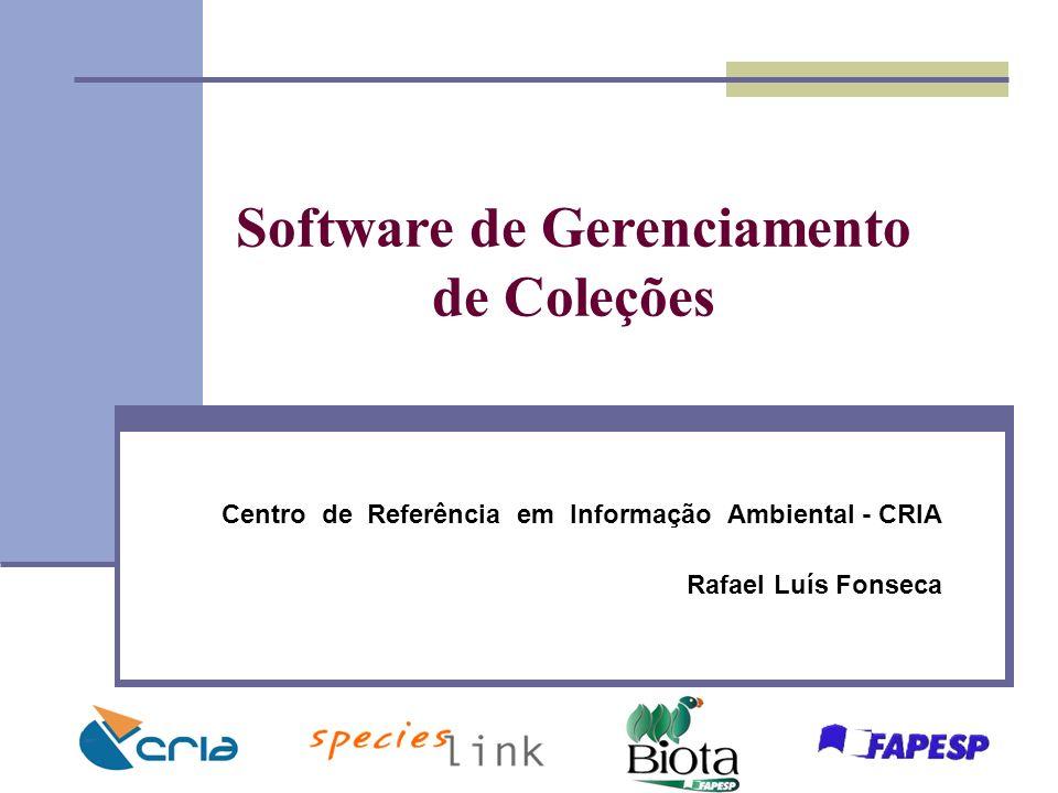 Software de Gerenciamento de Coleções