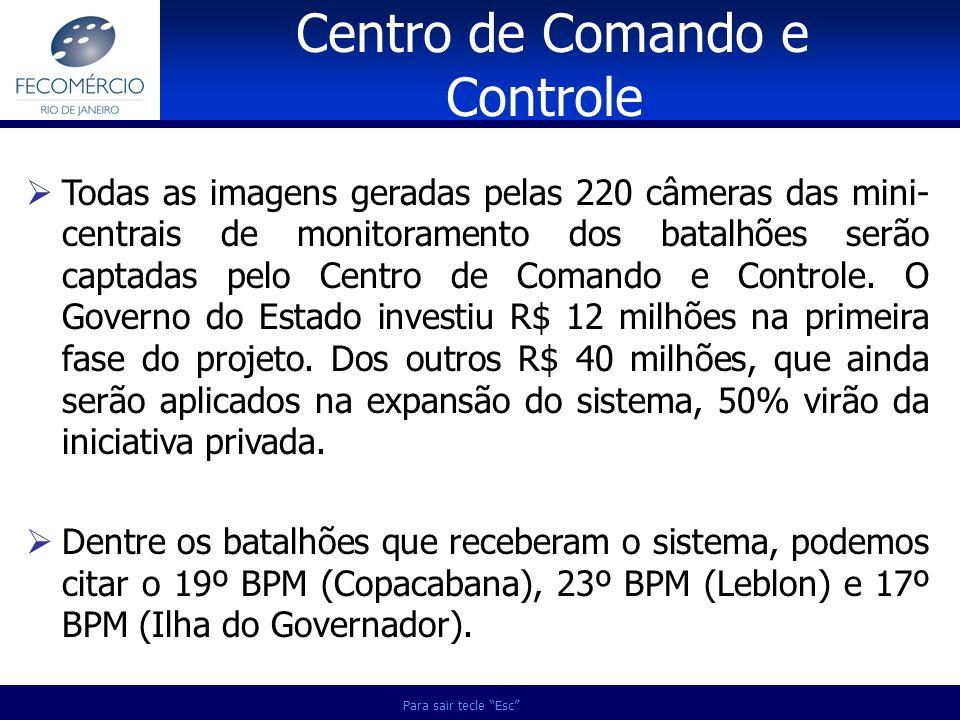 Centro de Comando e Controle