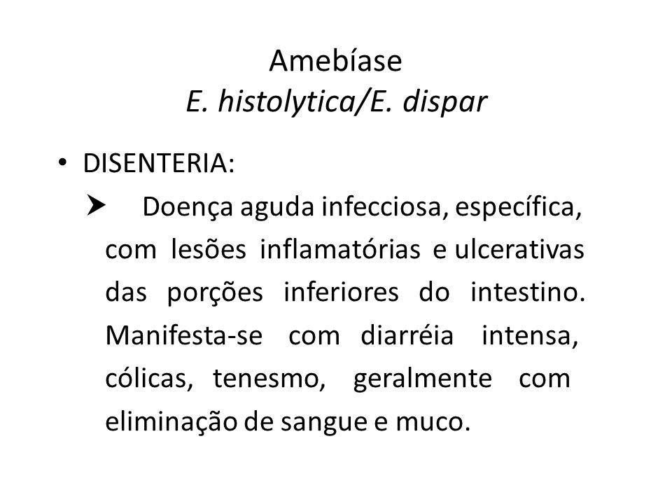 Amebíase E. histolytica/E. dispar