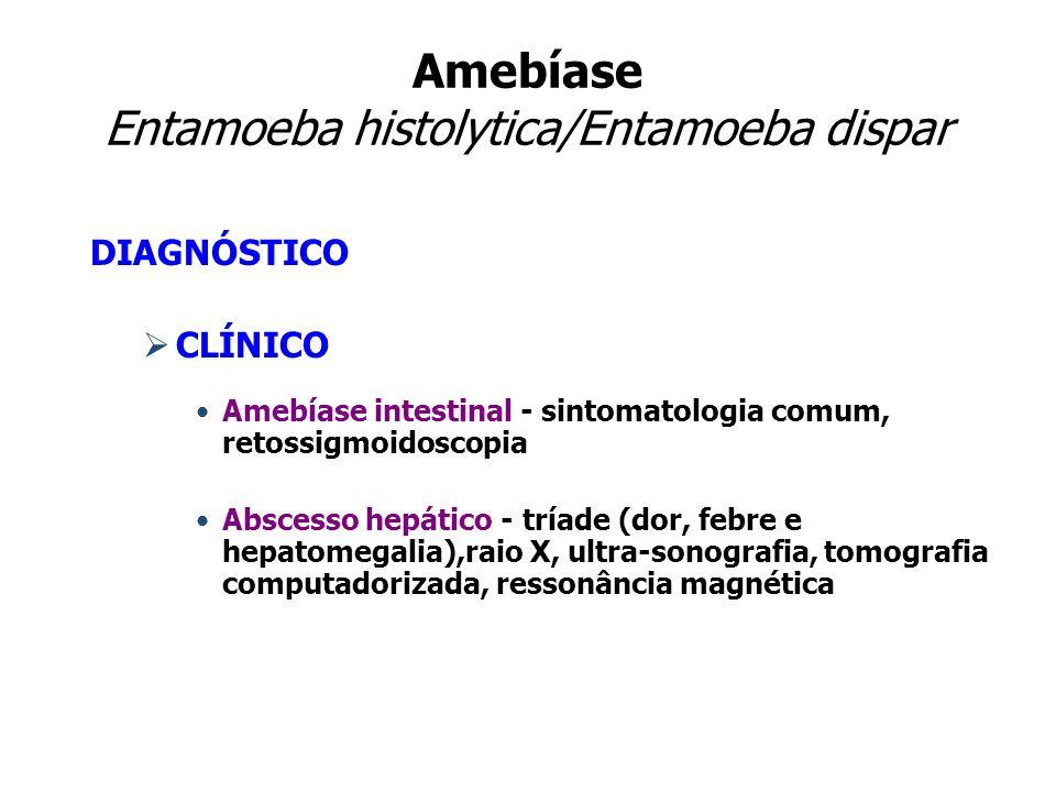Amebíase Entamoeba histolytica/Entamoeba dispar