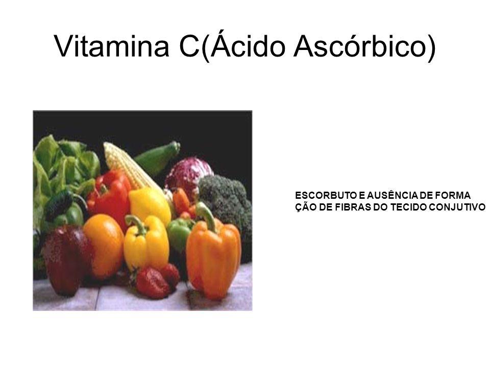 Vitamina C(Ácido Ascórbico)