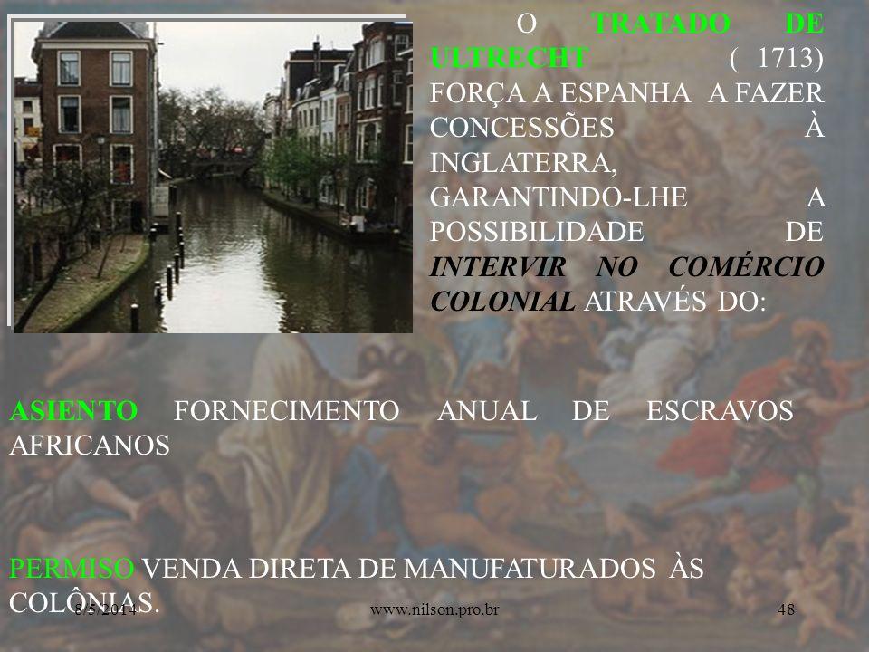 ASIENTO FORNECIMENTO ANUAL DE ESCRAVOS AFRICANOS