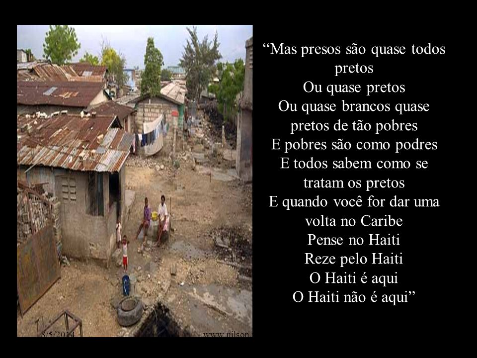 O Haiti é aqui O Haiti não é aqui