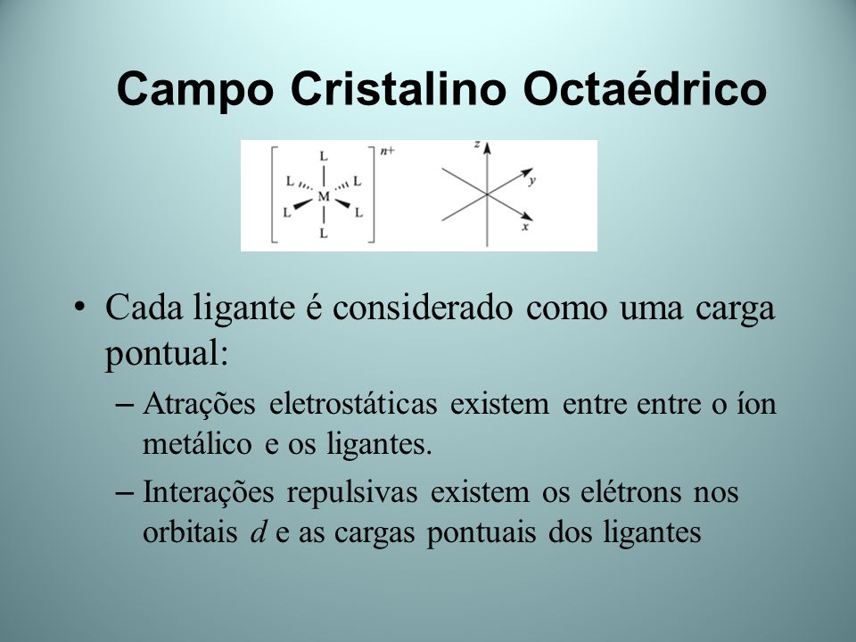 Campo Cristalino Octaédrico