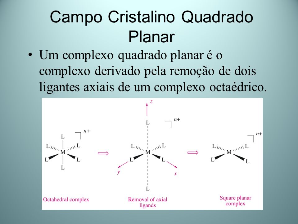 Campo Cristalino Quadrado Planar