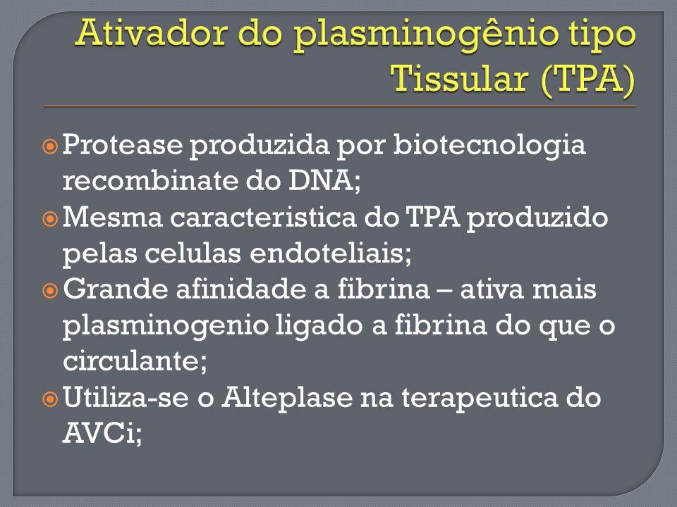 Ativador do plasminogênio tipo Tissular (TPA)