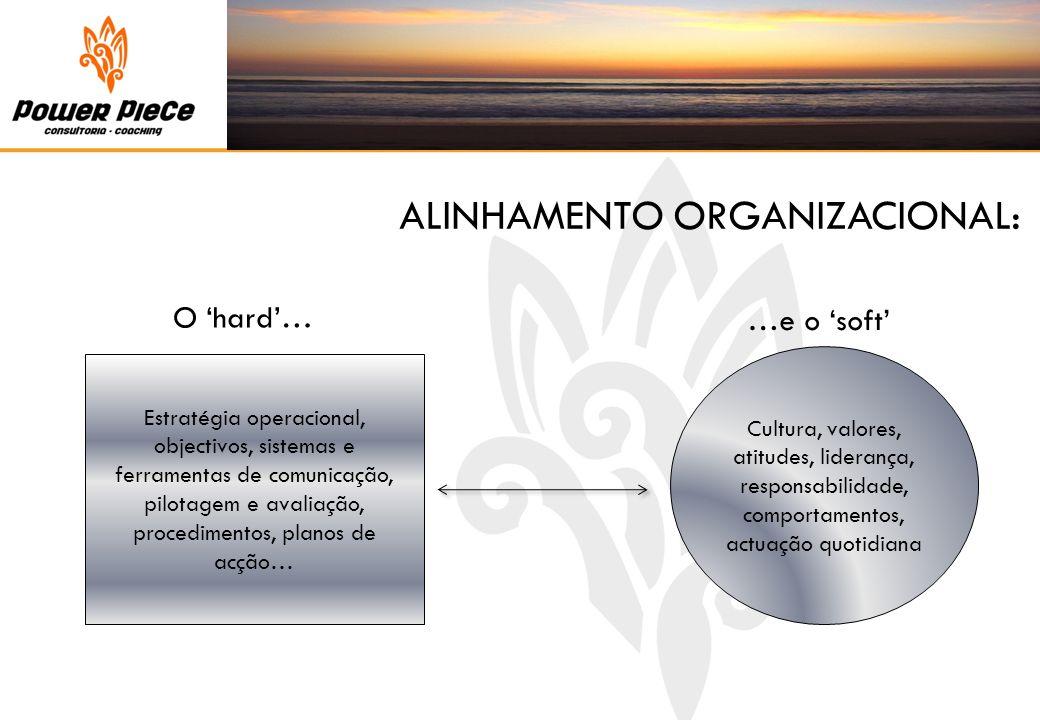 ALINHAMENTO ORGANIZACIONAL:
