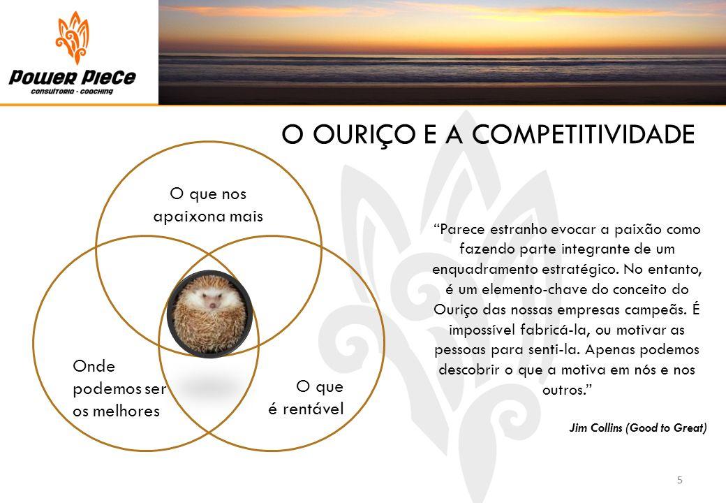 O OURIÇO E A COMPETITIVIDADE