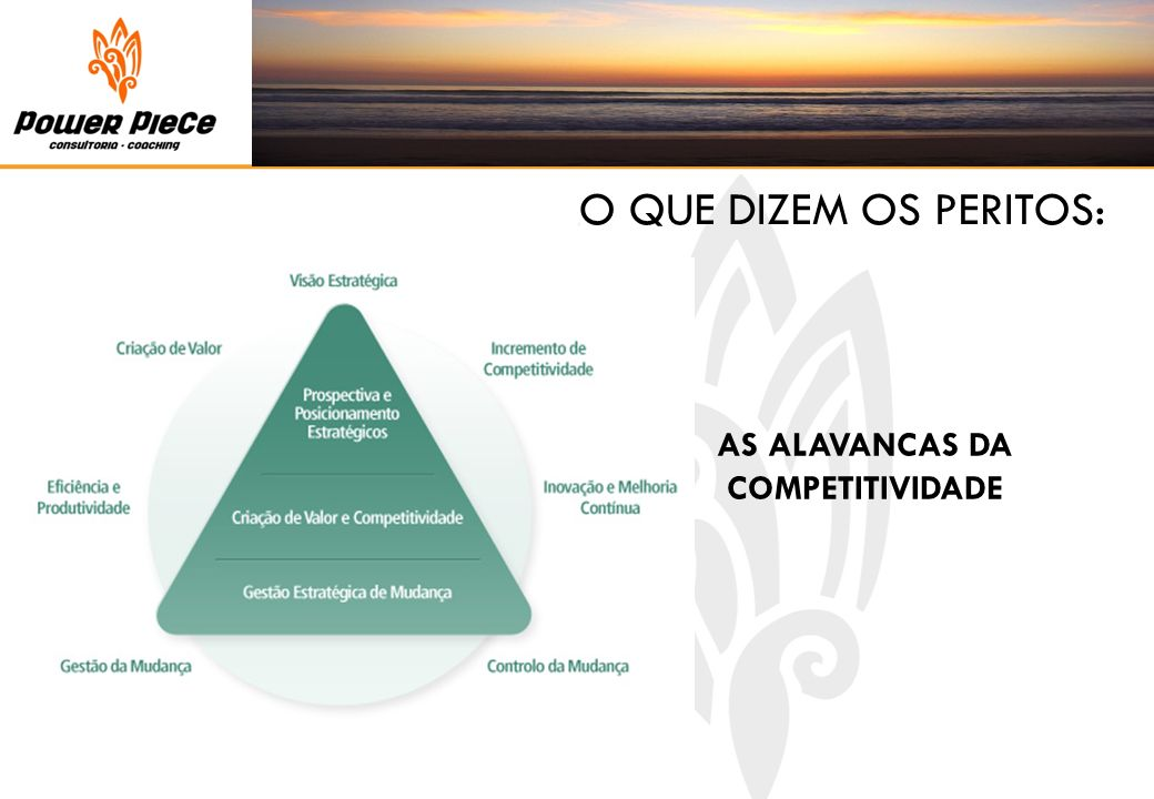 AS ALAVANCAS DA COMPETITIVIDADE