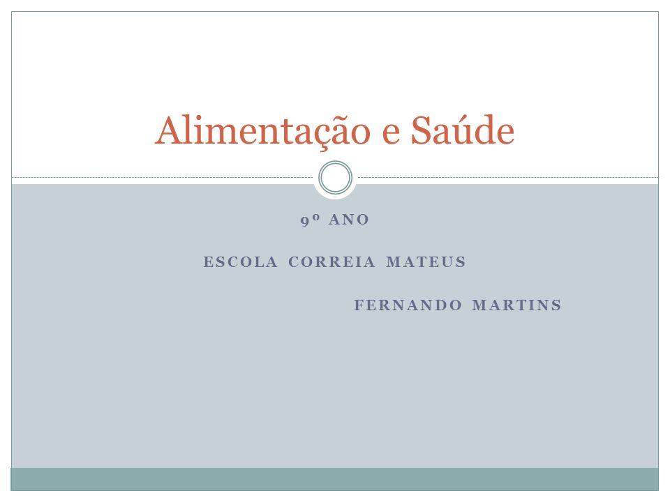 9º Ano Escola Correia Mateus Fernando Martins