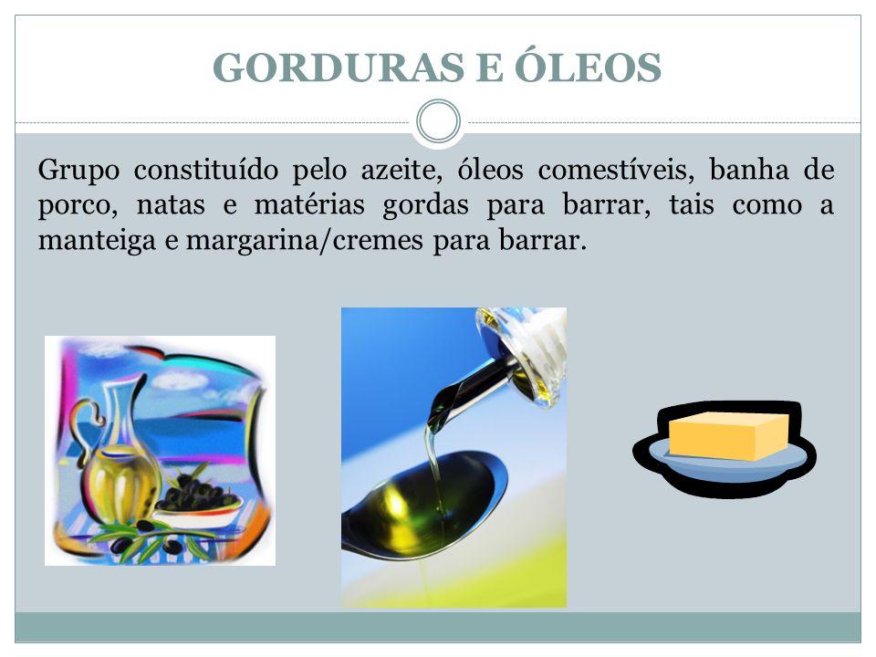 GORDURAS E ÓLEOS