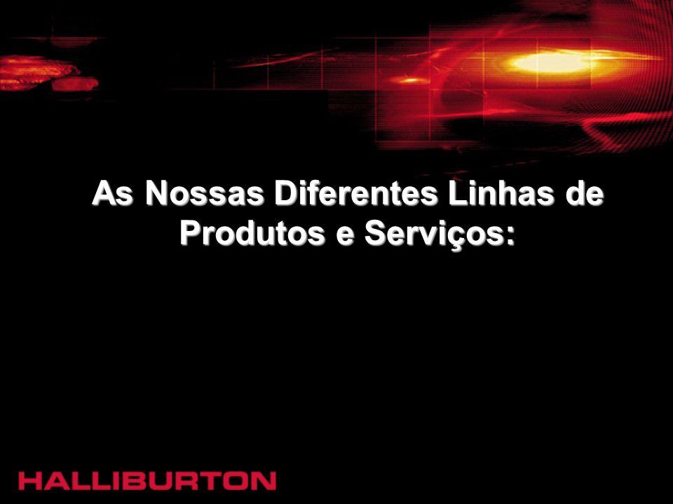 As Nossas Diferentes Linhas de Produtos e Serviços: