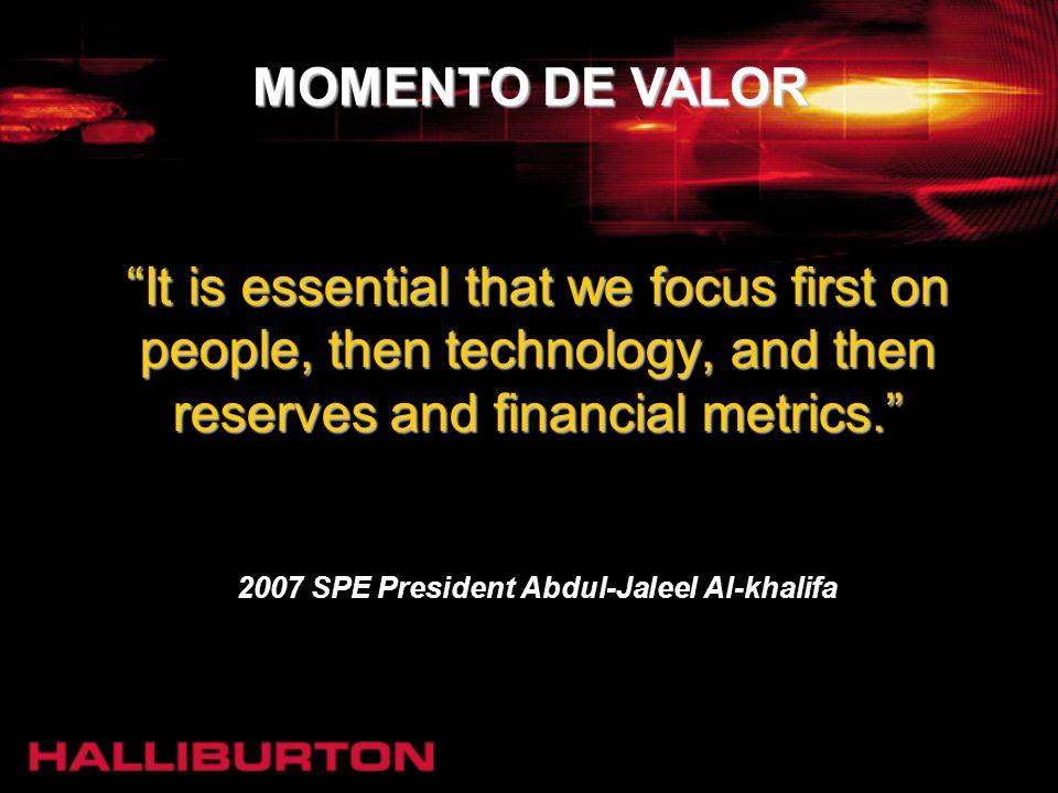 2007 SPE President Abdul-Jaleel Al-khalifa