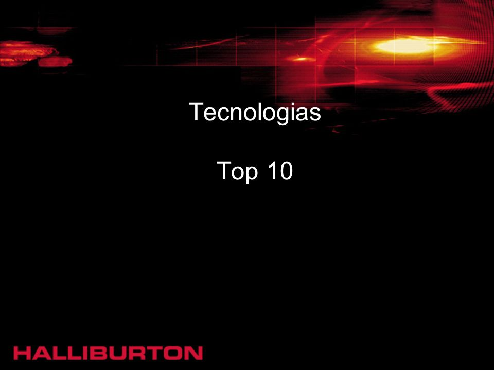 Tecnologias Top 10