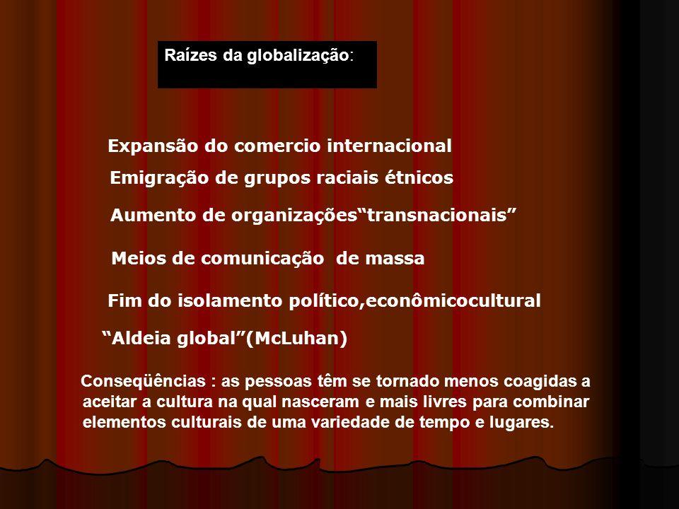 Raízes da globalização: