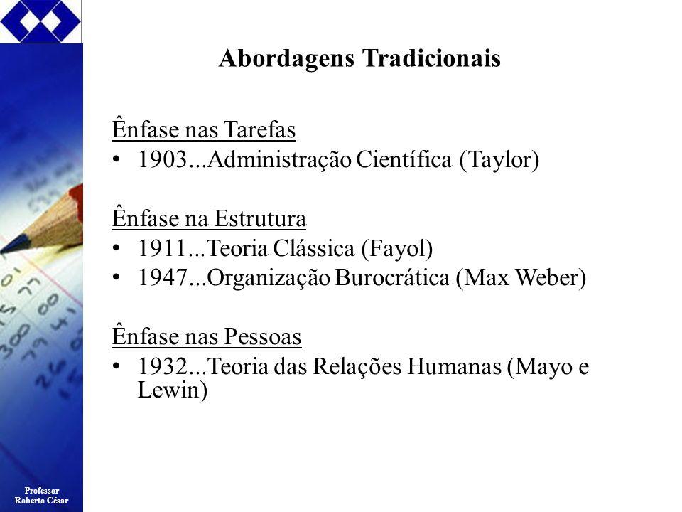 Abordagens Tradicionais