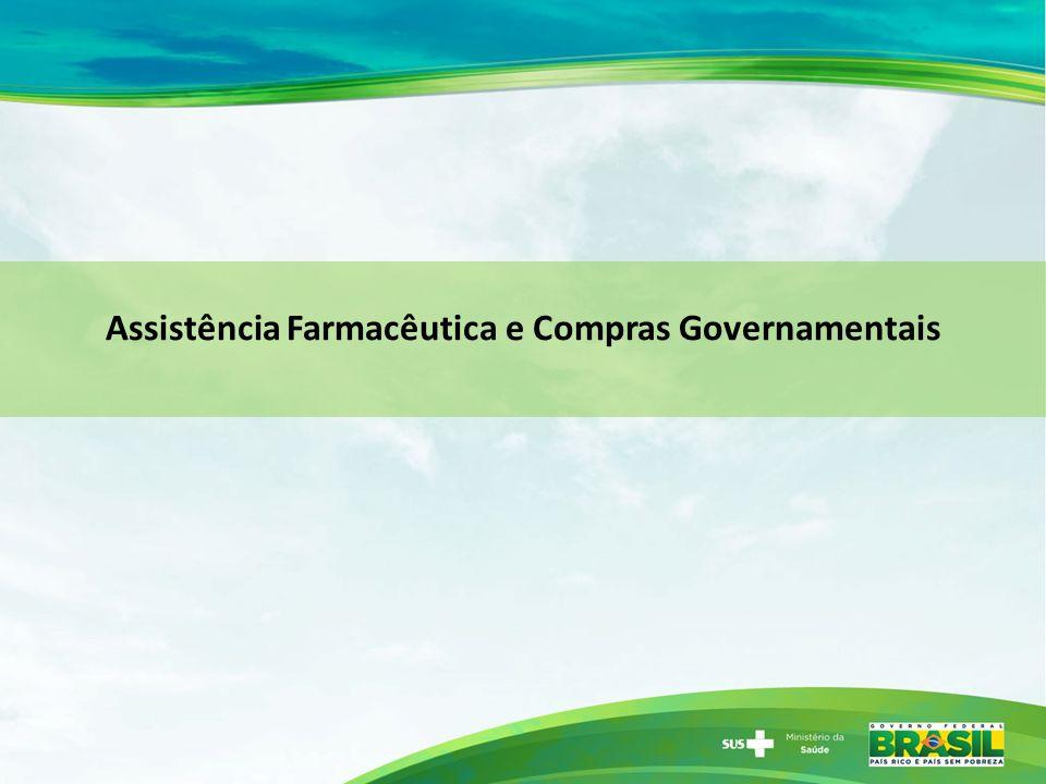 Assistência Farmacêutica e Compras Governamentais