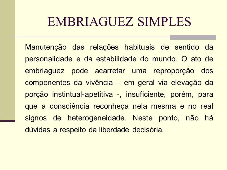 EMBRIAGUEZ SIMPLES