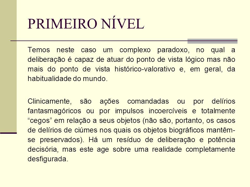 PRIMEIRO NÍVEL
