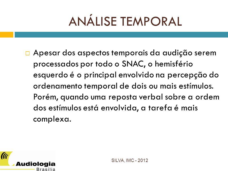 ANÁLISE TEMPORAL