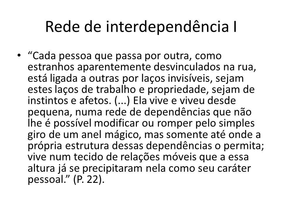 Rede de interdependência I