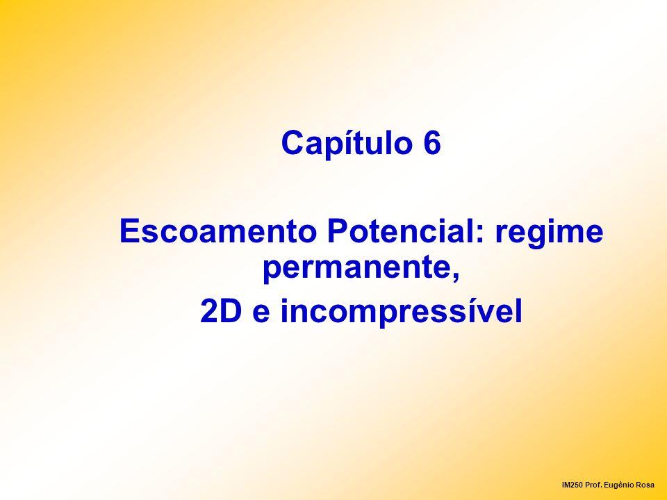 Escoamento Potencial: regime permanente,