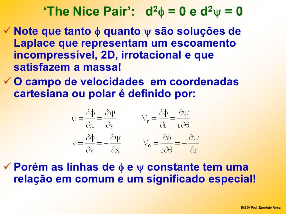 'The Nice Pair': d2f = 0 e d2y = 0