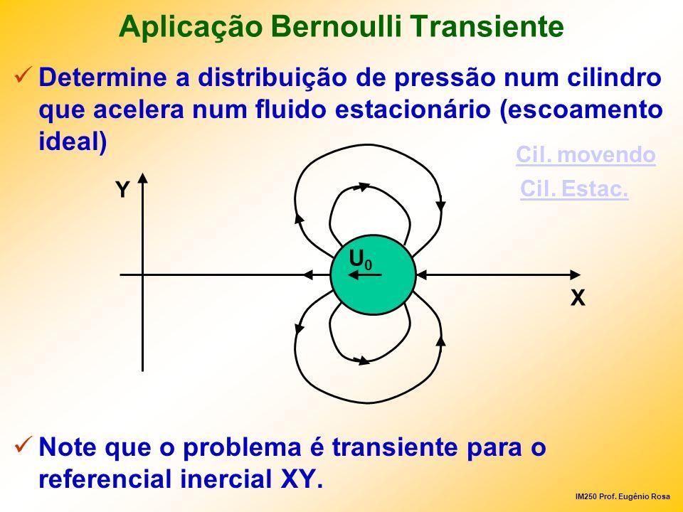 Aplicação Bernoulli Transiente