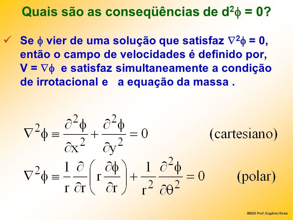 Quais são as conseqüências de d2f = 0