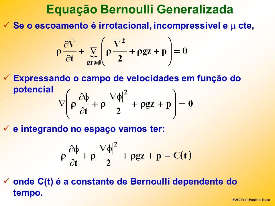 Equação Bernoulli Generalizada