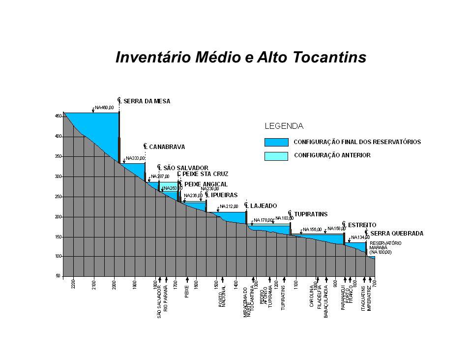 Inventário Médio e Alto Tocantins