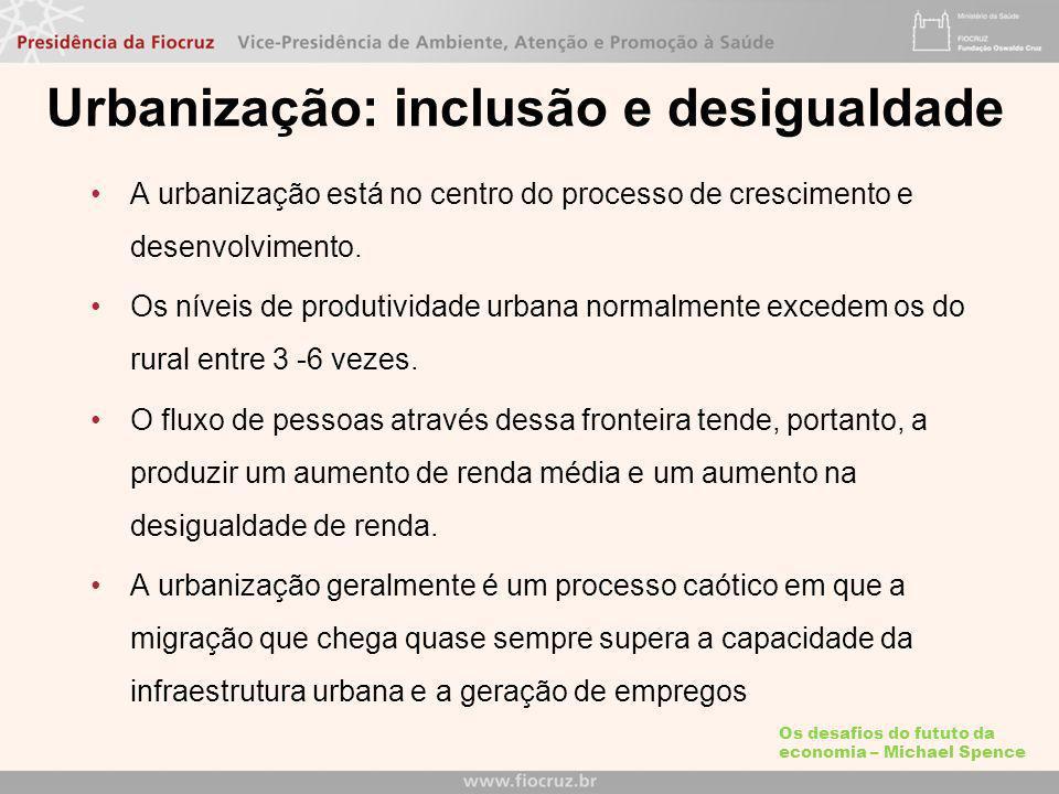 Urbanização: inclusão e desigualdade
