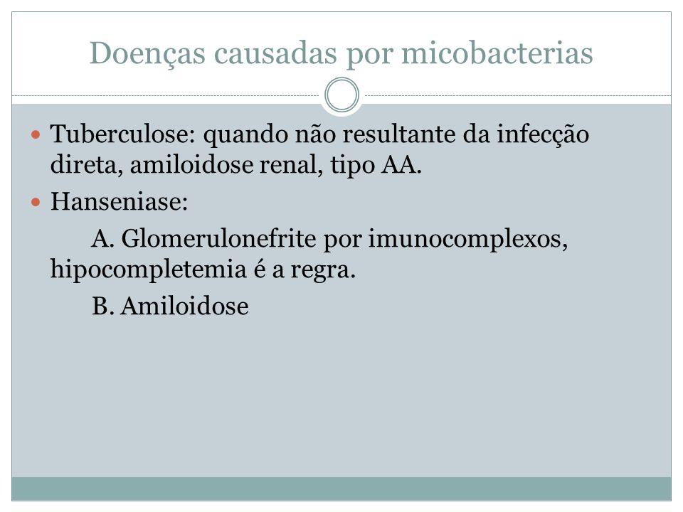 Doenças causadas por micobacterias