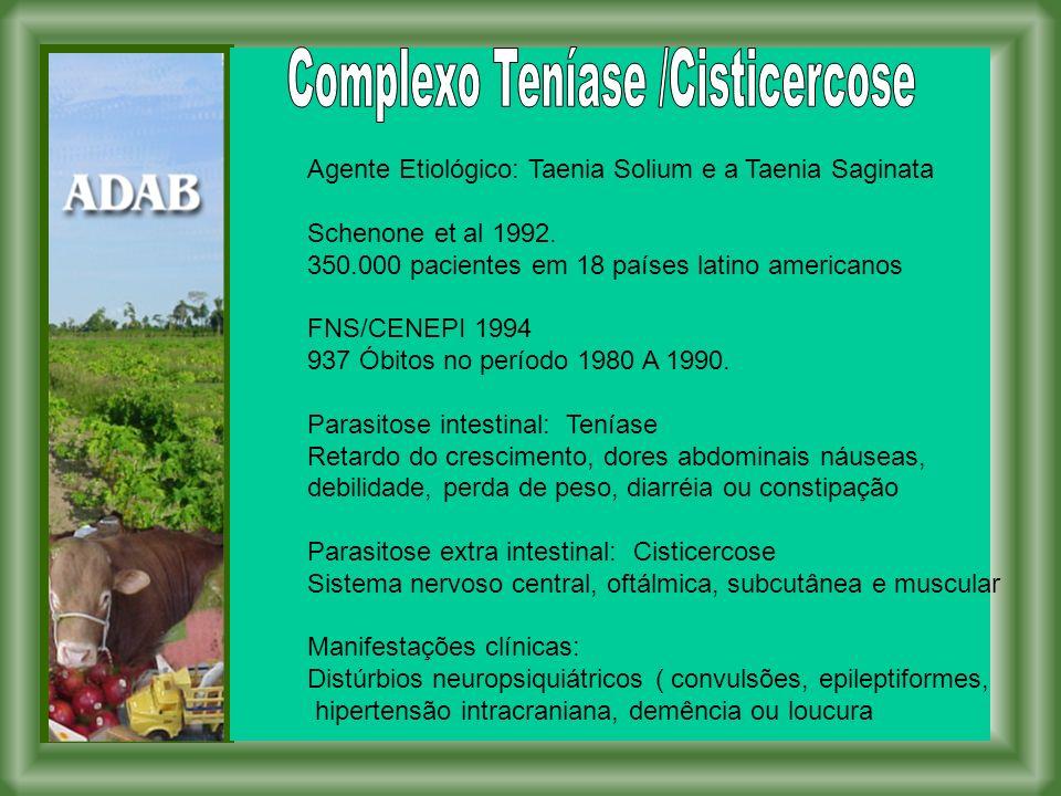 Complexo Teníase /Cisticercose