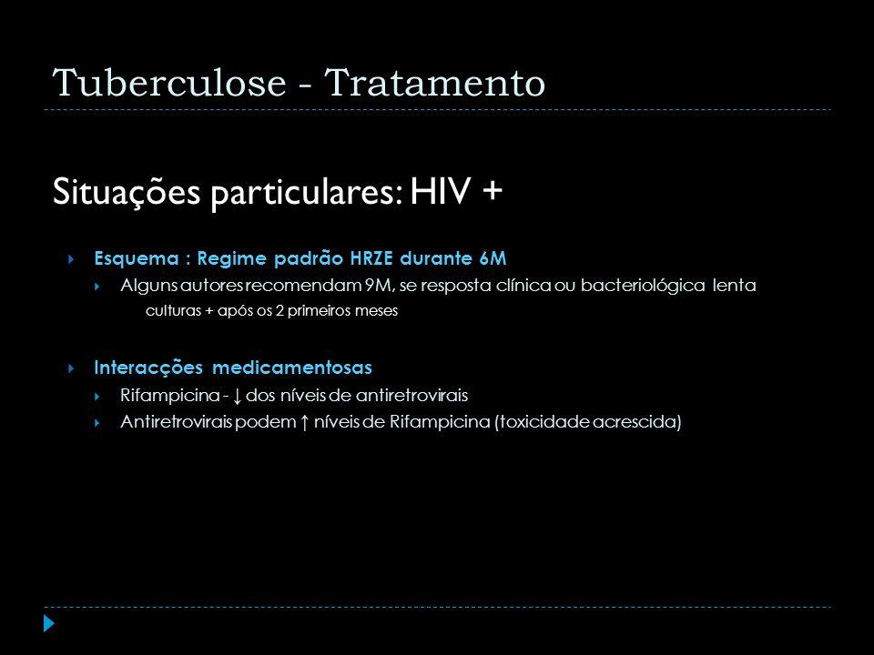 Situações particulares: HIV +
