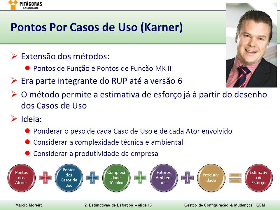 Pontos Por Casos de Uso (Karner)
