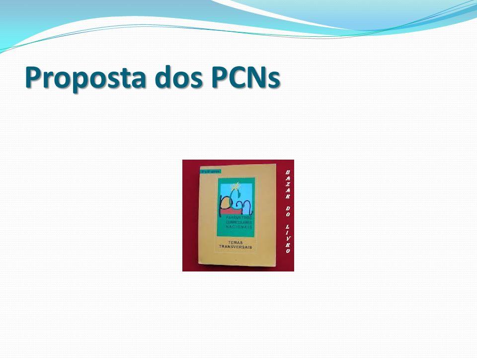 Proposta dos PCNs
