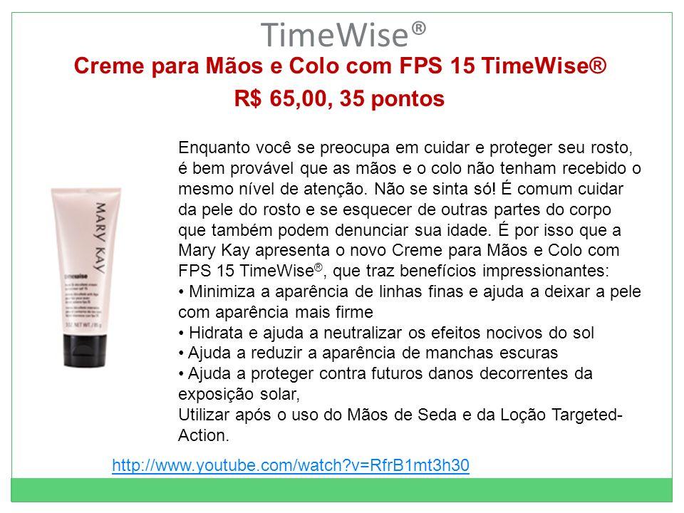 Creme para Mãos e Colo com FPS 15 TimeWise®
