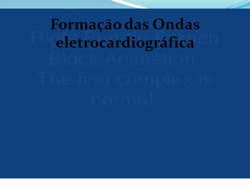 Formação das Ondas eletrocardiográfica