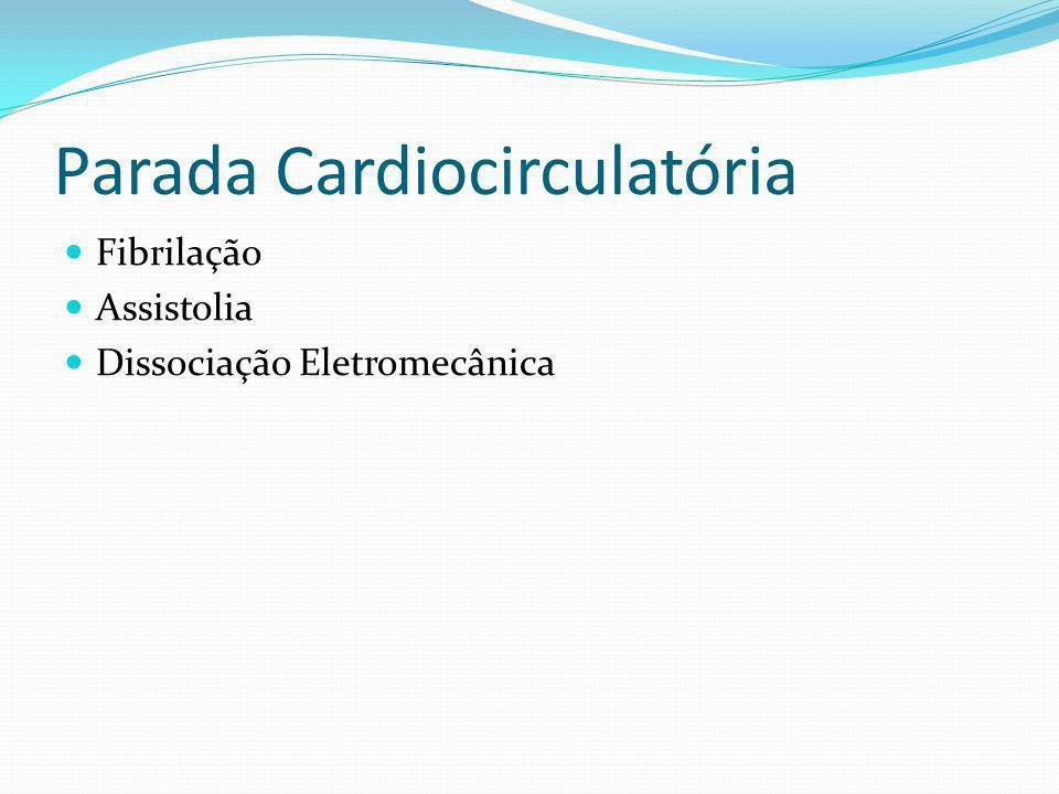 Parada Cardiocirculatória