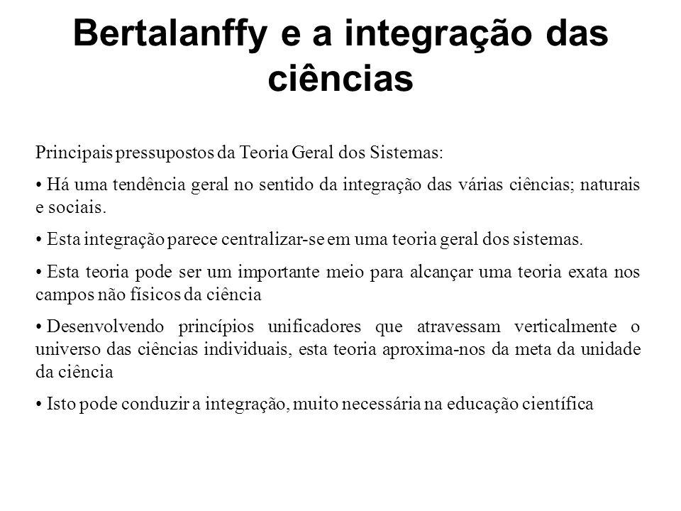 Bertalanffy e a integração das ciências