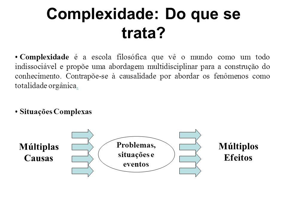 Complexidade: Do que se trata