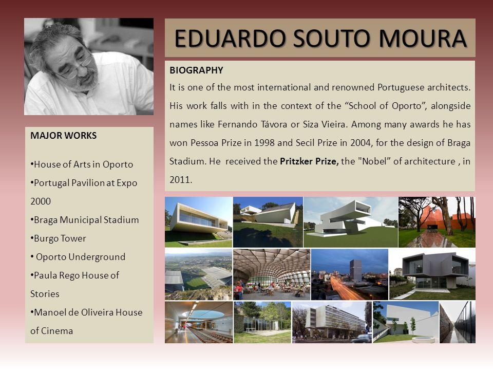 EDUARDO SOUTO MOURA BIOGRAPHY
