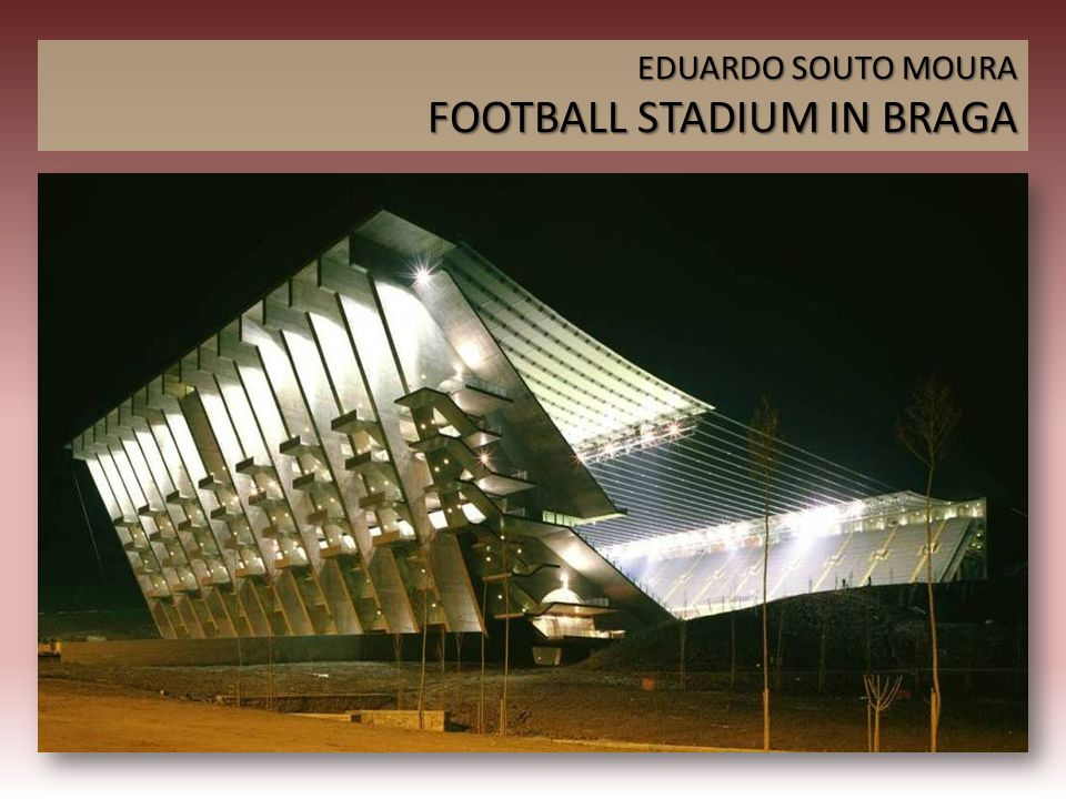 FOOTBALL STADIUM IN BRAGA