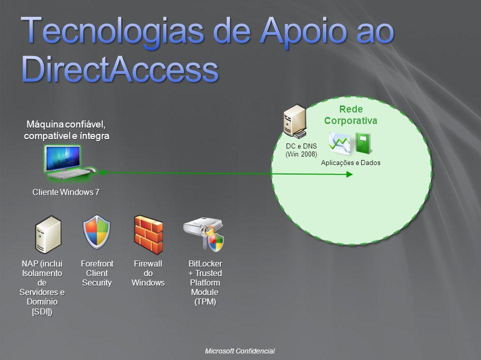 Tecnologias de Apoio ao DirectAccess