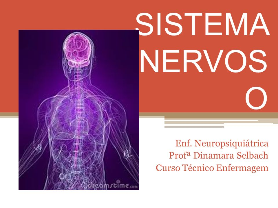 Enf. Neuropsiquiátrica Profª Dinamara Selbach Curso Técnico Enfermagem