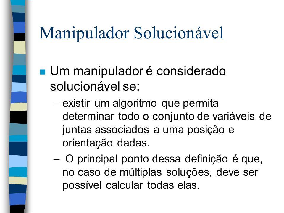 Manipulador Solucionável