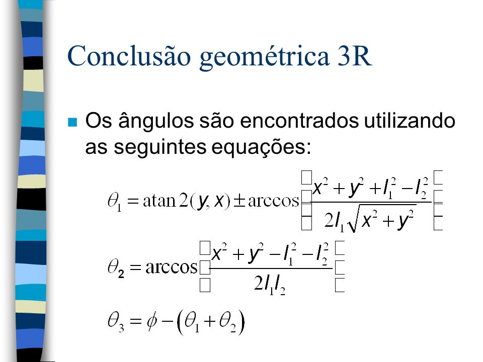Conclusão geométrica 3R