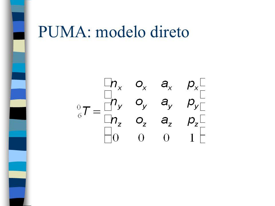 PUMA: modelo direto